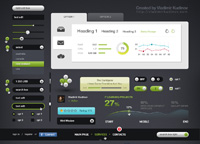 Futurico  Free User Interface Elements Pack